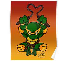 Michaelangelo Teenage Mutant Ninja Turtles Poster