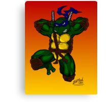 Leonardo Teenage Mutant Ninja Turtles Canvas Print