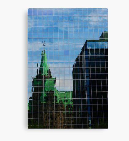 Capital Reflections Canvas Print