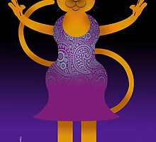 CARMEN THE CAT by peter chebatte