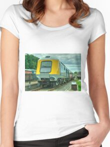 HST Prototype  Women's Fitted Scoop T-Shirt