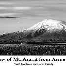 View of Mt. Ararat by Ryan Carter