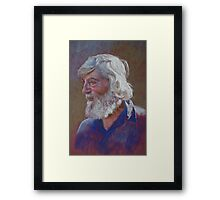 Portrait of Doug Dale Framed Print