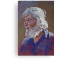 Portrait of Doug Dale Canvas Print