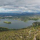 Canberra Panorama by Ross Campbell