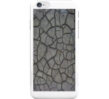 Dried Cracks in the Mud 2 - iCase iPhone Case/Skin