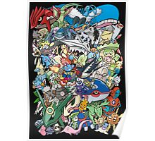 Gen III - Pokemaniacal Colour Poster