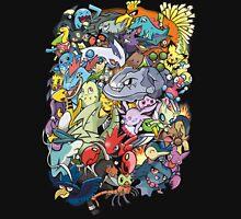 Gen II - Pokemaniacal Colour T-Shirt