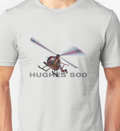 "Hughes 500 ""Little Bird"" Unisex T-Shirt"