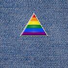 Pride Triangle on Denim by x-pressions