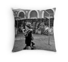 Versailles Market Throw Pillow