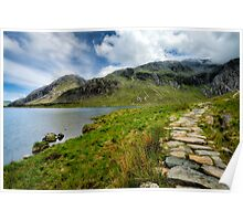 Taking the Rocky Path Poster