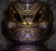 Meeting Highest Wisdom by Craig Hitchens - Spiritual Digital Art