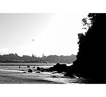 days end at Mangawhai Photographic Print
