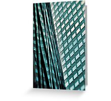 Urban Blues.... Greeting Card