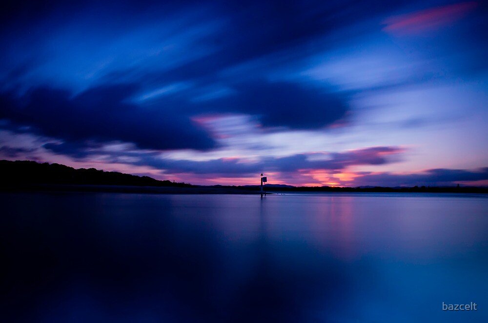 Smiths Lake Sunset by bazcelt