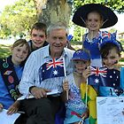 Tallangatta Pictures - Australia Day Celebrations by Jenny Enever