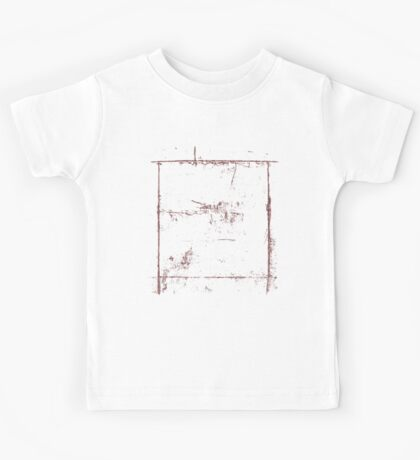 Square Grunge Cool Vintage T-Shirt Kids Tee
