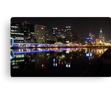 """""""Over The Yarra 2.0"""" Canvas Print"""
