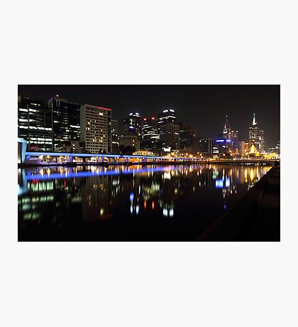 """""""Over The Yarra 2.0"""" Photographic Print"""