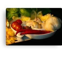 Hot And Spicy Canvas Print