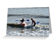 Water Sports Greeting Card