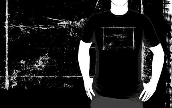 Square Grunge Cool Vintage T-Shirt by Denis Marsili - DDTK