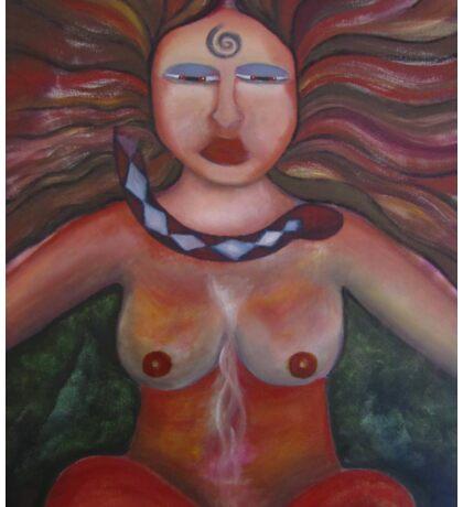 Shaman Woman Sticker