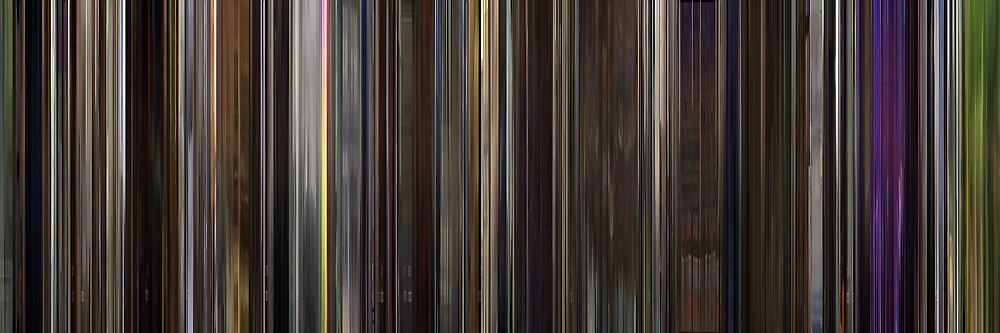 Moviebarcode: I'm Still Here (2010) by moviebarcode