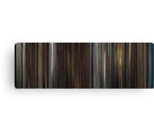 Moviebarcode: In Bruges (2008) Canvas Print
