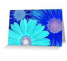 Bluer than blue, bluer than blues...(card) Greeting Card
