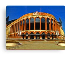 Citifield - Home of the New York Mets Baseball Club Canvas Print