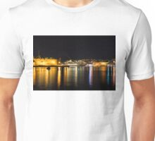Reflecting on Malta - Cruising Out of Valletta's Grand Harbour Unisex T-Shirt