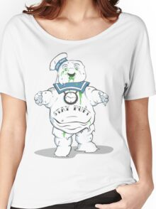 Stay Puft like a mofo Women's Relaxed Fit T-Shirt