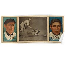 Benjamin K Edwards Collection George Wiltse John T Meyers New York Giants baseball card portrait Poster
