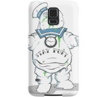 Stay Puft like a mofo Samsung Galaxy Case/Skin