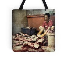 The Fish Cutter #0101 Tote Bag