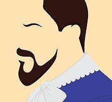 Django Side Profile by woahjonny