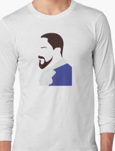 Django Side Profile Long Sleeve T-Shirt