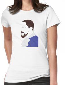 Django Side Profile Womens Fitted T-Shirt
