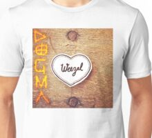 Shirt design for Dogma release by Weezal Unisex T-Shirt