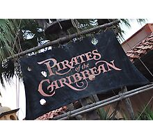 Pirates of the Caribbean Photographic Print