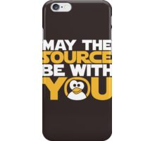 May The Source Be With You - Tux Edition iPhone Case/Skin