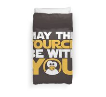 May The Source Be With You - Tux Edition Duvet Cover