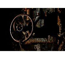 Rusty Valve Photographic Print