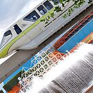 The Green Monorail by Patrick Lestrange