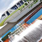 The Green Monorail by Patrick Tocher