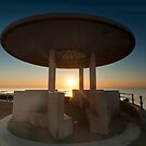 Pagoda Sunset by John Hare