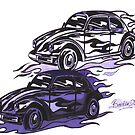 Hot Rods by Sharon Poulton