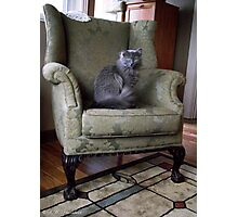 Favorite Chair Photographic Print